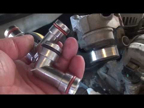 GM 3800 Cooling System Elbow Replacement