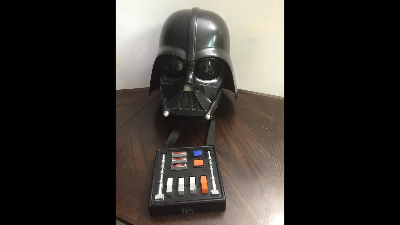 Star Wars Darth Vader Death Mask With Sounds