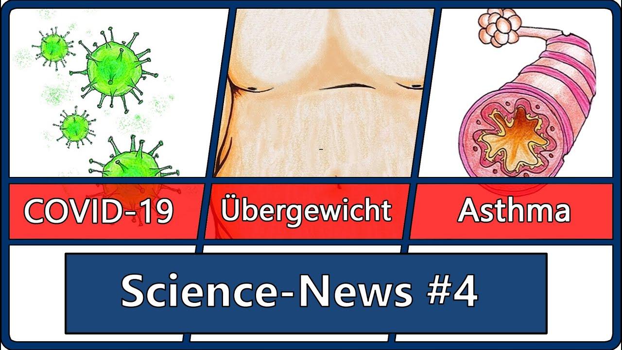 Science News #4: Symptome bei Kindern mit Covid19   Übergewichtige Jugendliche   Asthma & Vitamin D