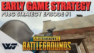 GUIDE: EARLY GAME STRATEGY - How to win in PUBG #1