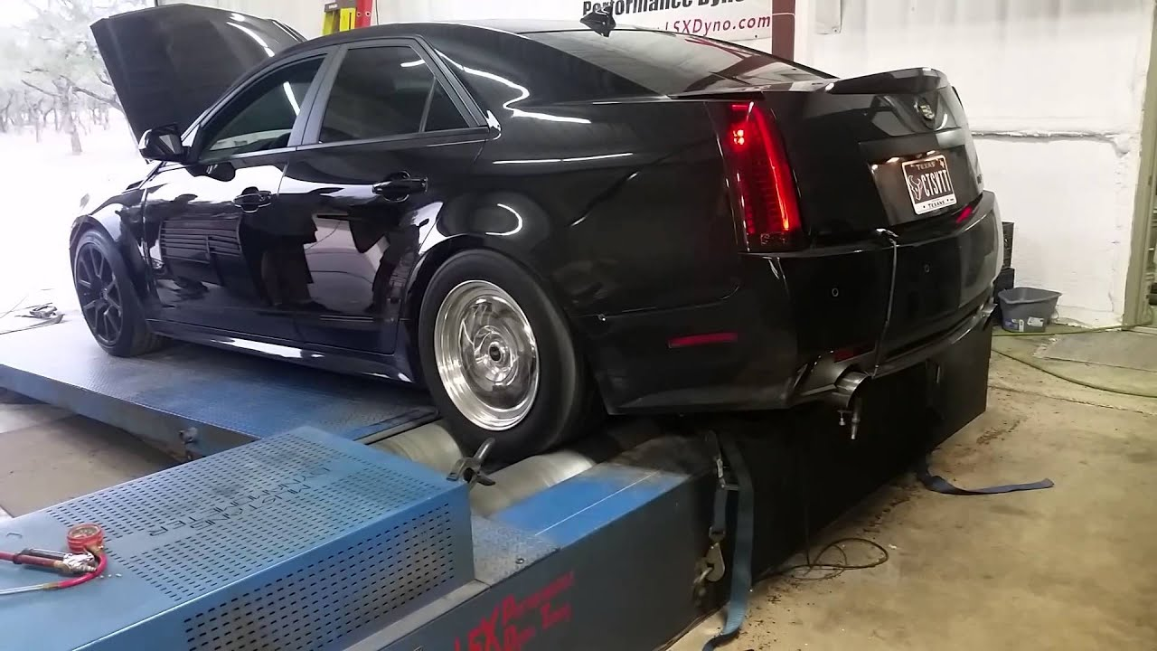 Twin Turbo Cadillac Ctsv Youtube