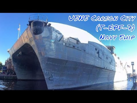 USNS Carson City (T-EPF-7) Navy Ship 10/15/16