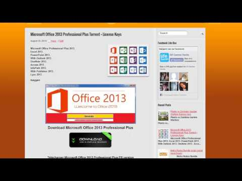 Cracker office 2013 fr hd doovi - Office professional plus 2013 telecharger ...