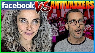 Facebook vs Antivaxxers (Measles Outbreak & Larry Cook)