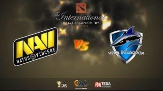 [ Dota2 ] Navi vs Vega - The International 2015 : Europe Qualifier - Thai Caster