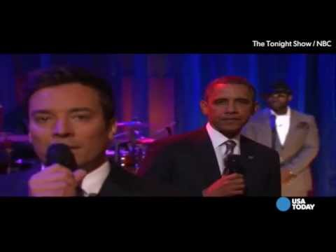 Obama's greatest late night moments