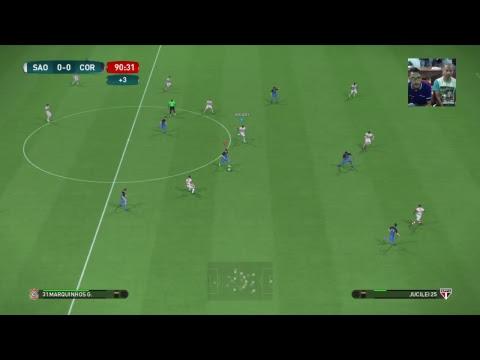 São Paulo vs Corinthians - Campeonato Brasileiro Virtual  - Wanted Games