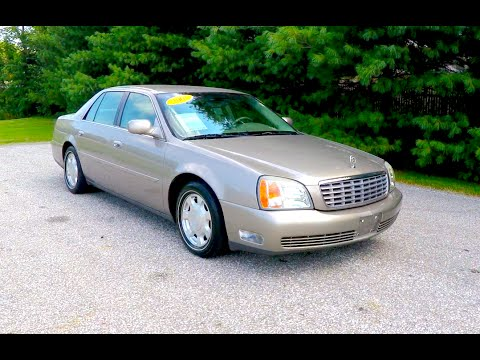 2001 Cadillac Deville Dhs P10275b Youtube