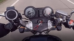 Honda NTV 650 - Top Speed with 37kW / 50PS