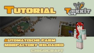 Automatische Farm - Minefactory Reloaded Tutorial - Deutsch