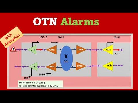 OTN alarms #OTN #DWDM #telecom