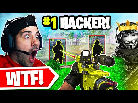 Spectating the #1 CRAZIEST Warzone HACKER! 😱