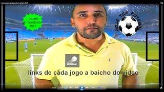 1 rodada do campeonato brasileiro 2017