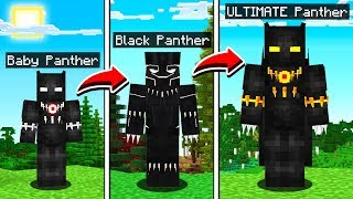 LIFE OF BLACK PANTHER IN MINECRAFT!