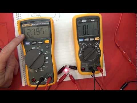 Electronics Tutorial #2 - Power  -  the relationship with Voltage and Current