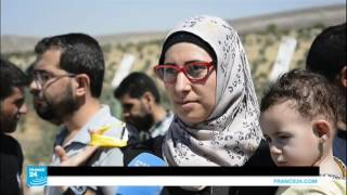 أكثر من 7 آلاف سوري في معبر باب الهوى يأملون تمضية عيد الأضحى مع عائلاتهم