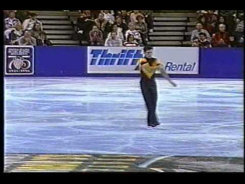 Michael Weiss - 1996 U.S. Figure Skating Championships, Men