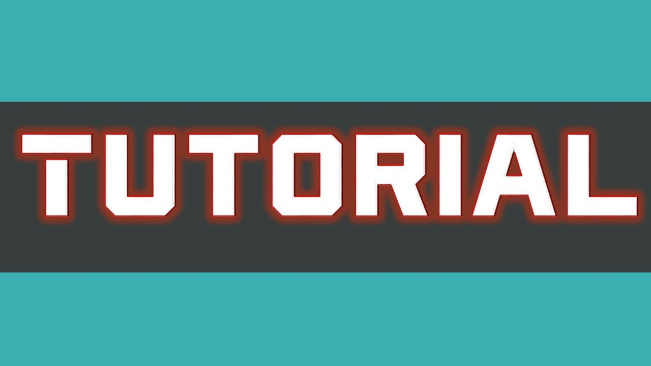 tutorial make an easy professional 3d youtube banner for free