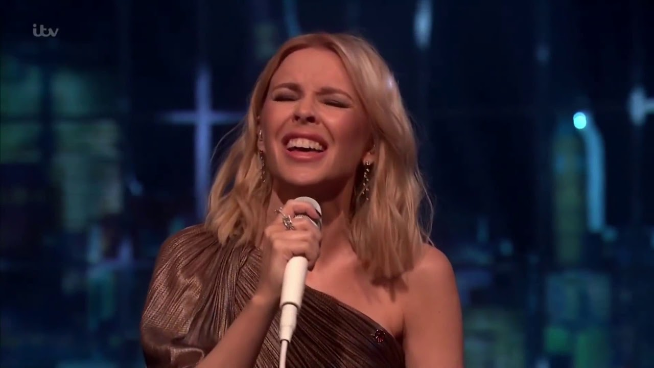 Kylie Minogue - Music\'s Too Sad Without You feat. Jack Savoretti (Live Jonathan Ross 2018)