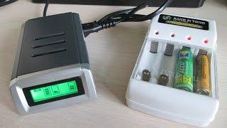Чем дешево заряжать аа? Распаковка и обзор двух зарядок для ni mh AA/AAA Аккумуляторов.