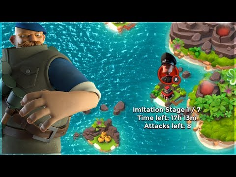 Boom Beach Grenadier Rushes vs Imitation Game!