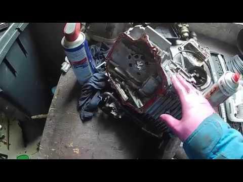 Engine Disassembly Honda GCV 160 - Broken Brush Hog