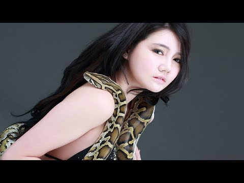 Thumbnail: Beautiful Girl Catch Big Snake A long the Road While Ridding Bicycle With Her Brother