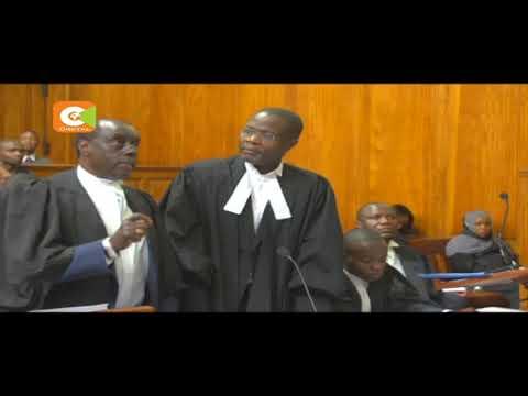 Paul Muite, Ben Sihanya in heated exchange at Supreme Court