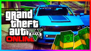 GTA 5 Online RARE Cars & Easy Money Method! - Part 3 - Dominator & Sabre Turbo (GTA V Rare Cars)