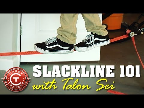 Slackline 101 with Talon Sei