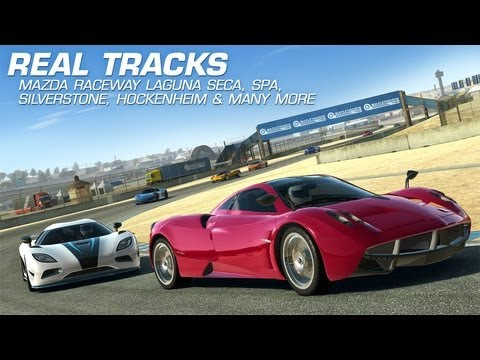 [Test] Real Racing 3 - IPhone 5 / Apple TV AirPlay