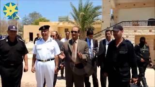 بالفيديو.. مدير أمن مطروح يستعرض مهارات ضرب النار من الوضع المتحرك
