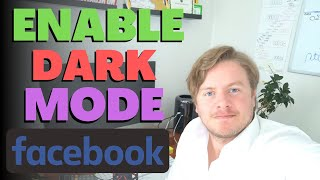 How To Enable Dark Mode On Facebook Mobile App