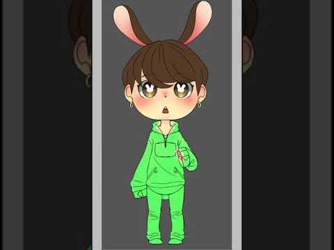 Chibi Bts Bunny Jungkook Speedpaint Youtube