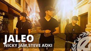 JALEO by Nicky Jam,Steve Aoki | Zumba®  | Reggaeton | TML Crew Kramer Pastrana Video