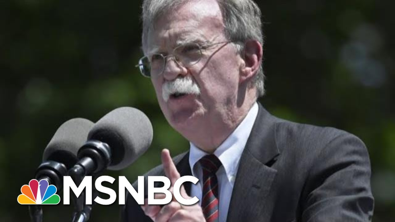Download Former Obama Adviser: John Bolton Is 'Motivated Above All By Profit'   The Last Word   MSNBC