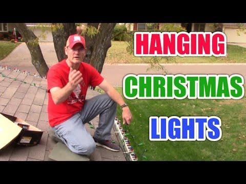 Hanging Christmas lights outside: How to hang Christmas lights on your roof
