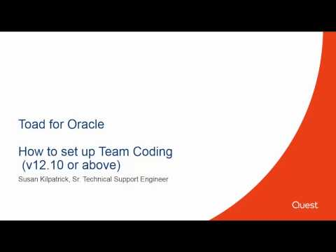How to setup up Team Coding (12.10 and above)