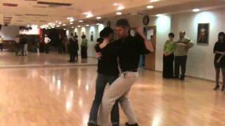 Tango Argentino I ADance I Урок аргентинского танго | 2011