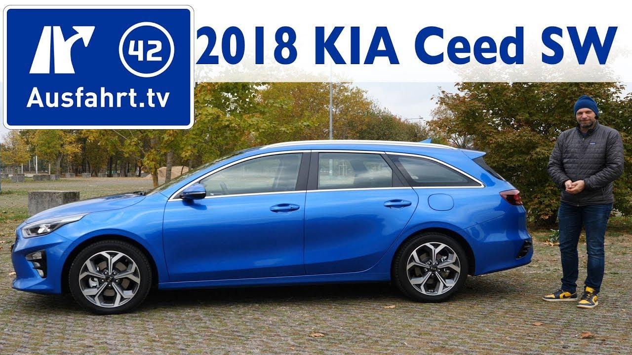 2018 Kia Ceed Sportswagon 1 4 T Gdi Spirit Cd Kombi Kaufberatung Test Review Youtube
