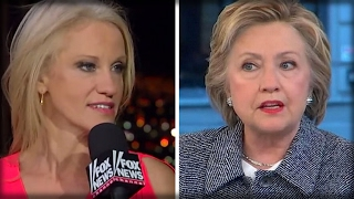 HILLARY JUST TRIED TO TAUNT TRUMP... THAT'S WHEN KELLYANNE TAUGHT HER A BRUTAL LESSON