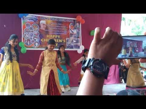 St Joseph school dance in paralakhemundi