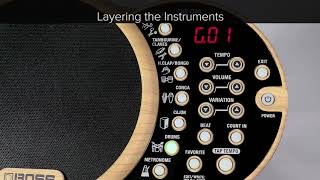 DR-01S Quick Start chapter1: How to Enjoy Playing Your Instrument Alongside a Rhythmic Backing