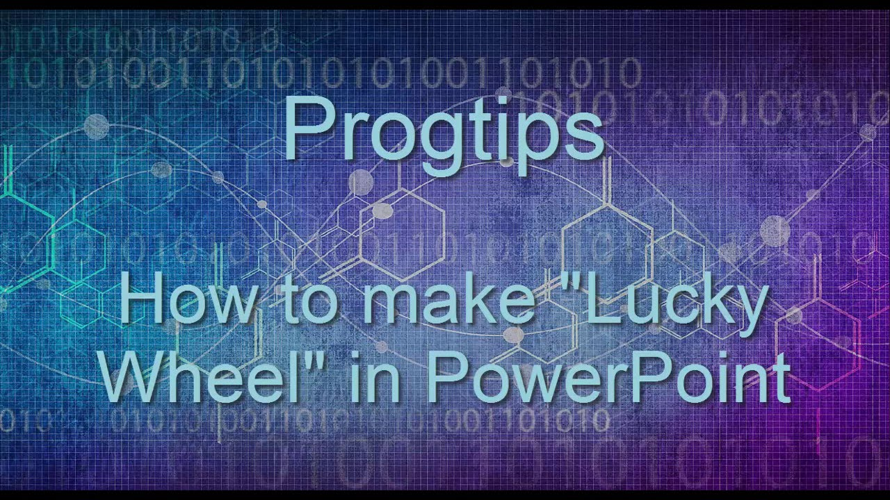"how to make ""lucky wheel"" using powerpoint 2013 - youtube, Powerpoint templates"
