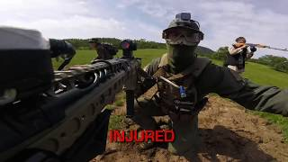Airsoft SUICIDE BOMBER - Dutch and Jet Team Up!