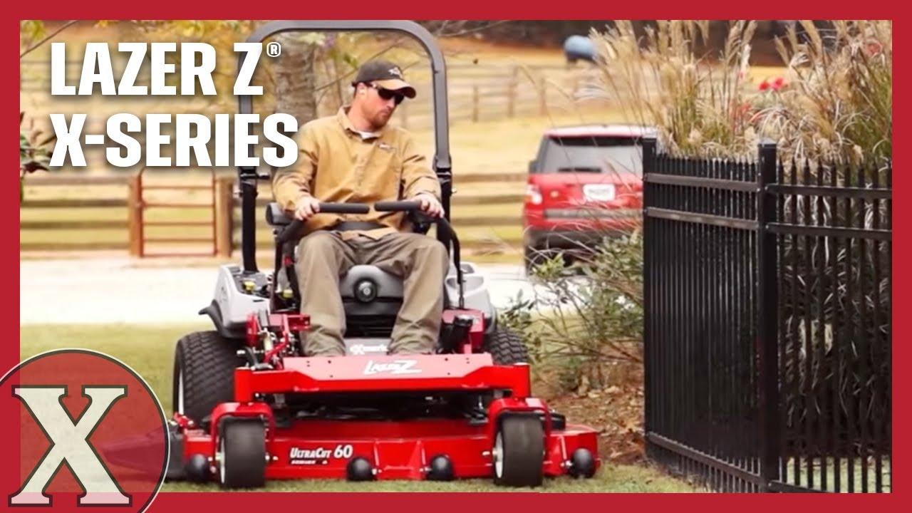 Exmark Lazer Z X-Series Riding Mowers