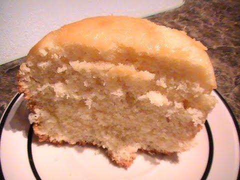 Simple White Cake YouTube