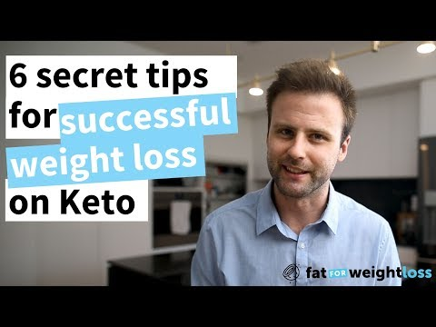 6 Secret Tips For Successful Weight Loss On Keto