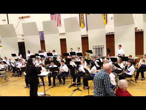 Gaiser Middle School Vancouver WA  Advanced band 3