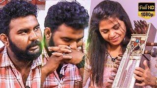 VJ Ashiq in Tears 1st Time! Ilayaraja Songs Mashup By Sarangi Manonmani